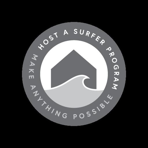 Logo Design - Host a Surfer