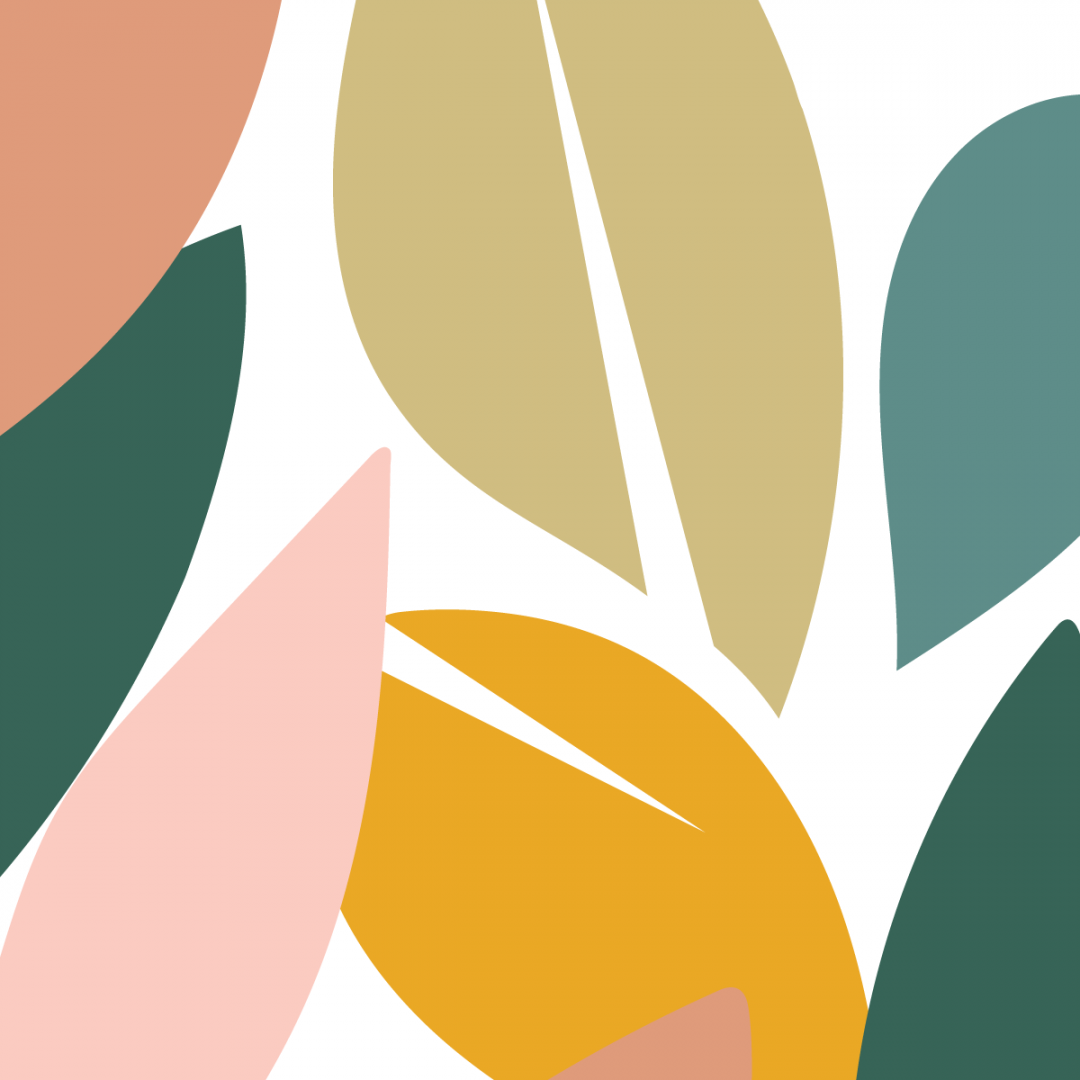 Link to Instagram - cutout leaf shapes in autumnal colours